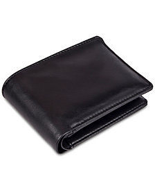Exact Fit Men's Stretch RFID Slim Wallet