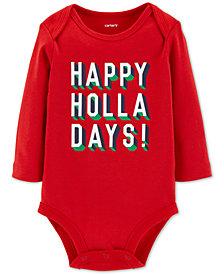 Carter's Baby Boys & Girls Holla-Days Cotton Bodysuit