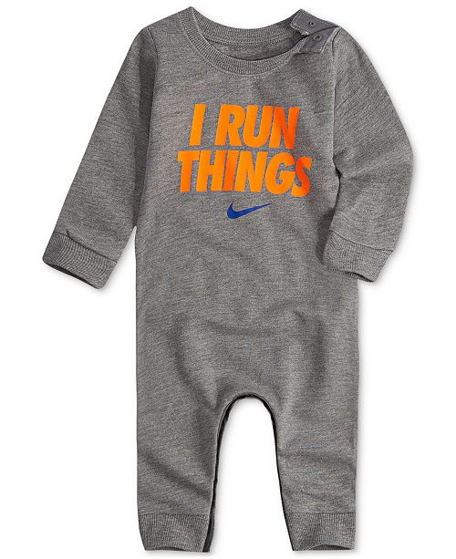 1e91987d3 Nike Baby Boys Footless Coverall   Reviews - All Baby - Kids - Macy s