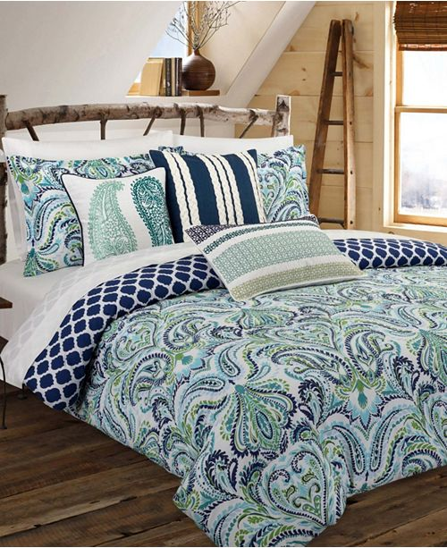 Nouvelle Home Painterly Paisley Collection