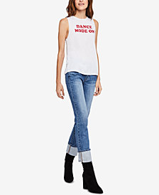 BCBGeneration Dance Mode On Graphic-Print Tank Top