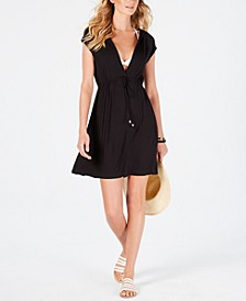 Paradise Solid Dress Cover-Up
