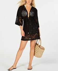 Dotti Santorini Tile Kimono Cover-Up