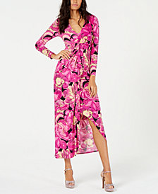 Thalia Sodi Printed Maxi Dress, Created for Macy's