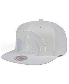 Mitchell & Ness Atlanta Hawks Cropped XL Logo Snapback Cap