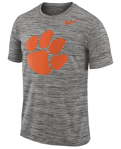 83564b8a9c15 Nike Men s Clemson Tigers Legend Travel T-Shirt - Sports Fan Shop By ...