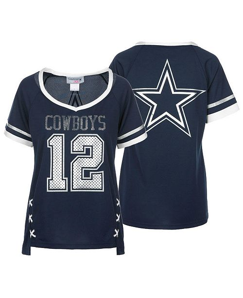 Authentic Nfl Apparel Women S Dallas Cowboys Vixen Jersey