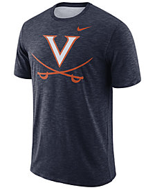 Nike Men's Virginia Cavaliers Dri-FIT Cotton Slub T-Shirt