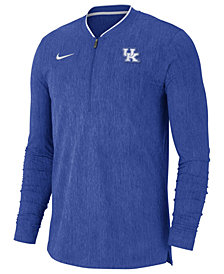 Nike Men's Kentucky Wildcats Coaches Quarter-Zip Pullover 2018