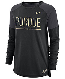 Nike Women's Purdue Boilermakers Tailgate Long Sleeve T-Shirt