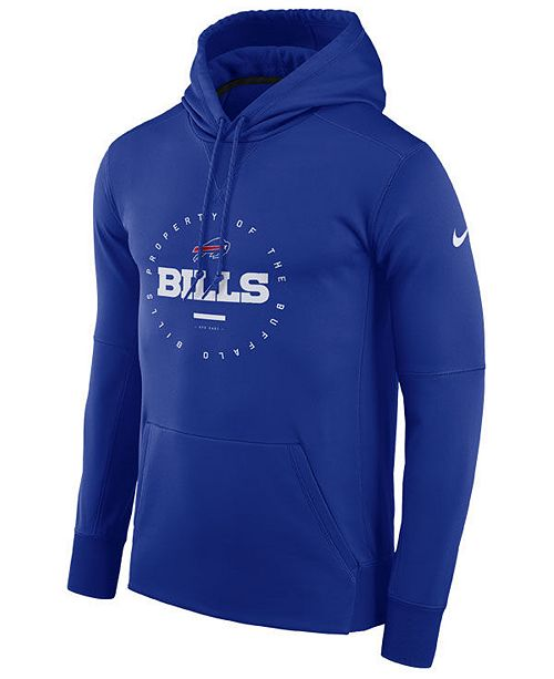 sale retailer b0689 228a5 Nike Men's Buffalo Bills Property Of Therma Hoodie & Reviews