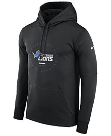 Nike Men's Detroit Lions Property Of Therma Hoodie