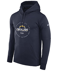 Nike Men's Los Angeles Chargers Property Of Therma Hoodie