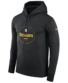 Nike Men's Pittsburgh Steelers Property Of Therma Hoodie