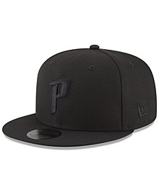New Era Detroit Pistons Alpha Triple Black 59FIFTY FITTED Cap