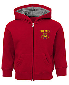 Outerstuff Iowa State Cyclones Red Zone Full-Zip Hooded Sweatshirt, Infants (12-24 Months)