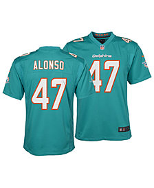 Nike Kiko Alonso Miami Dolphins Game Jersey, Big Boys (8-20)
