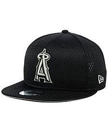 New Era Los Angeles Angels Batting Practice Mesh 9FIFTY Snapback Cap