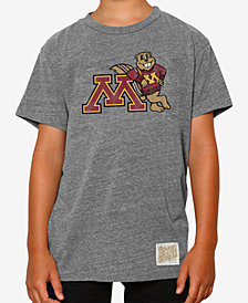 Retro Brand Minnesota Golden Gophers Tri-Blend T-Shirt, Big Boys (8-20)