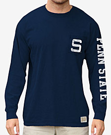 Retro Brand Men's Penn State Nittany Lions Heavy Weight Long Sleeve Pocket T-Shirt