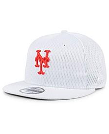 New York Mets Batting Practice Mesh 9FIFTY Snapback Cap