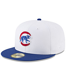 New Era Chicago Cubs Batting Practice Wool Flip 59FIFTY FITTED Cap