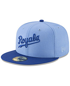 New Era Kansas City Royals Batting Practice Wool Flip 59FIFTY FITTED Cap