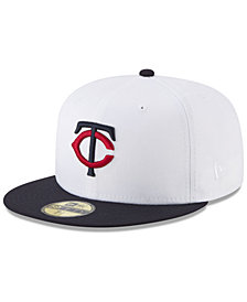 New Era Minnesota Twins Batting Practice Wool Flip 59FIFTY FITTED Cap