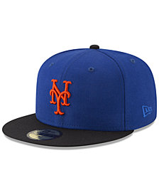 New Era New York Mets Batting Practice Wool Flip 59FIFTY FITTED Cap
