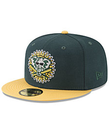 New Era Oakland Athletics Batting Practice Wool Flip 59FIFTY FITTED Cap