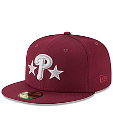 New Era Philadelphia Phillies Batting Practice Wool Flip 59FIFTY FITTED Cap