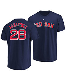 Majestic Men's J.D. Martinez Boston Red Sox Official Player T-Shirt