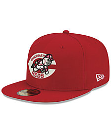 New Era Cincinnati Reds Retro Stock 59FIFTY FITTED Cap