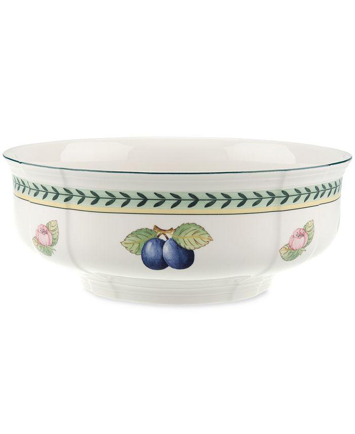 "Villeroy & Boch - French Garden 9"" Round Vegetable Bowl"