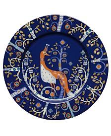 Iittala Dinnerware, Taika Blue Salad Plate