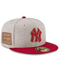 New Era New York Yankees Leather Ultimate Patch Collection 59FIFTY FITTED Cap