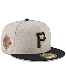 New Era Pittsburgh Pirates Leather Ultimate Patch Collection 59FIFTY FITTED Cap