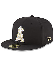 New Era Los Angeles Angels Prolite Gold Out 59FIFTY FITTED Cap