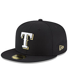 New Era Texas Rangers Prolite Gold Out 59FIFTY FITTED Cap