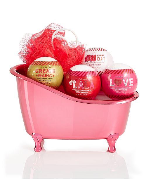 Simple Pleasures Love 5 Piece Fizzers In Tub