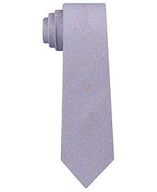 Kenneth Cole Reaction Men's Pebble Solid Slim Silk Tie