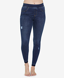 SPANX Ripped Denim Leggings