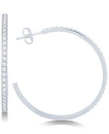 Diamond Hoop Earrings (3/4 ct. t.w.)