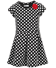 Epic Threads Toddler Girls Dot-Print Double-Knit Dress