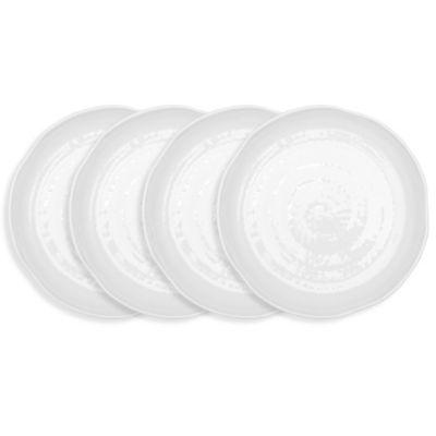 Pearl Melamine 4-Pc. Dinner Plate Set