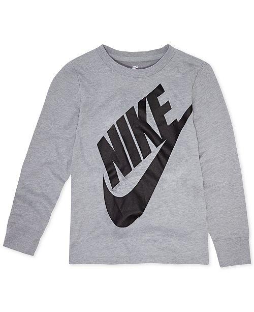 Nike Little Boys Futura Graphic Cotton T Shirt Shirts