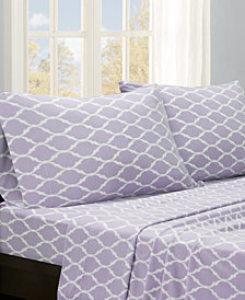 True North by Sleep Philosophy Micro Fleece 4-PC King Sheet Set