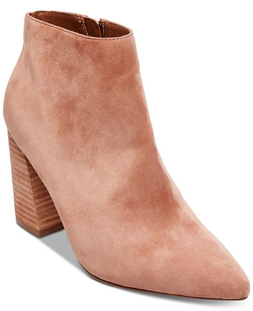 721706f5aac Steve Madden Simmer Flare-Heel Booties   Reviews - Boots - Shoes ...