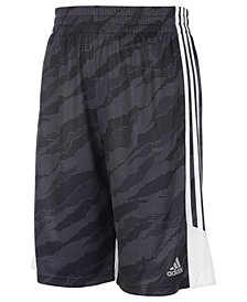 adidas Big Boys Climalite® Dot Moto Camo Shorts