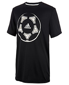 adidas Big Boys Climalite® Graphic-Print T-Shirt